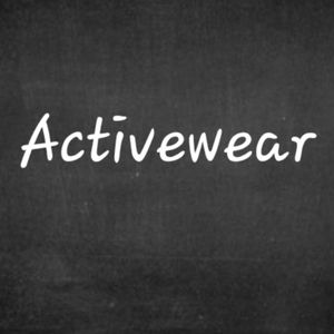 ACTIVEWEAR AVAILABLE!!!